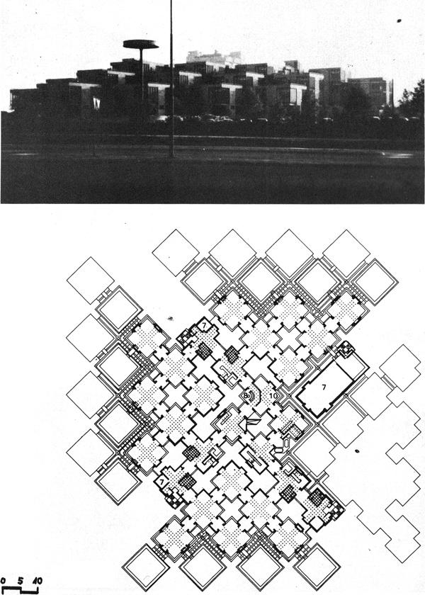 Centraal Beheer, Herman Hertzburger, 1972