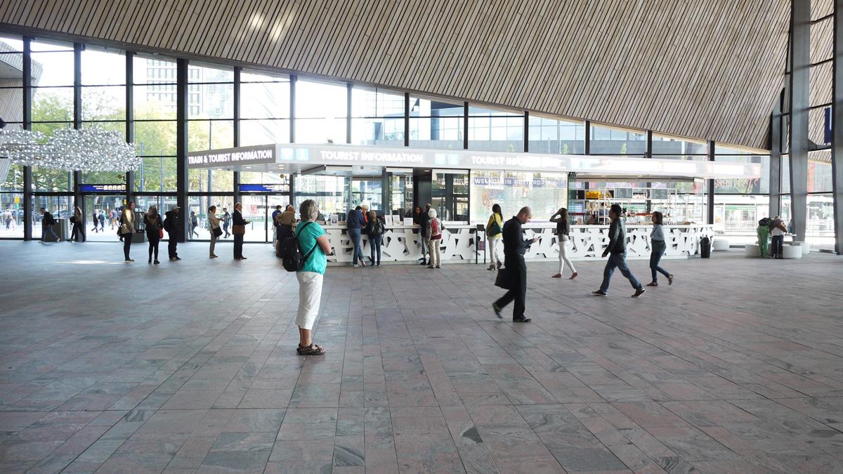 图1_鹿特丹火车站大厅