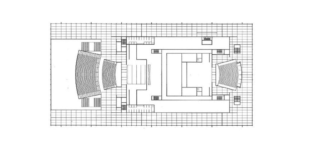 图9_National Theatre, Mannheim, Germany, Floor plan